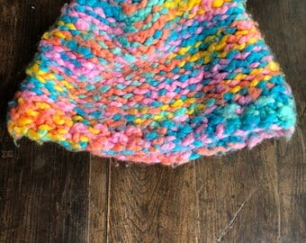 Colors of Rainbow Winter Hat