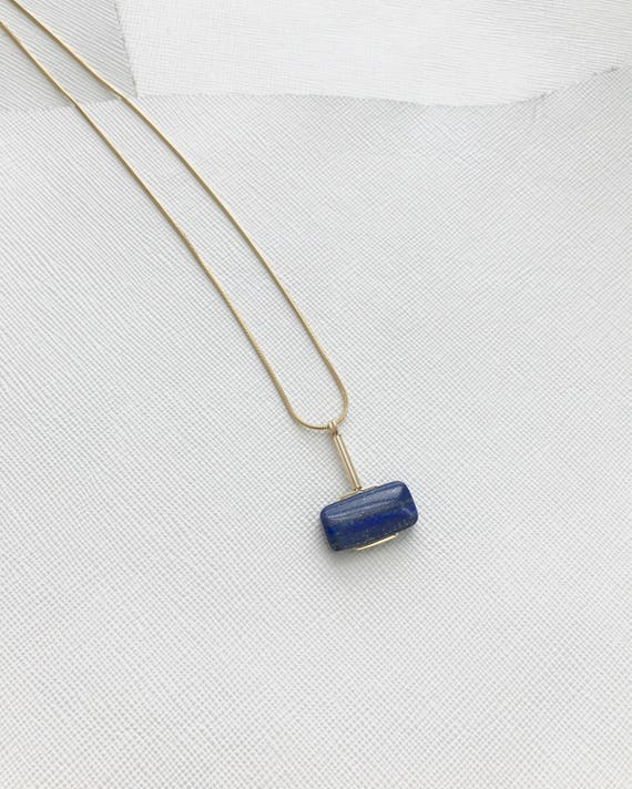 LAZLO necklace -  Lapis