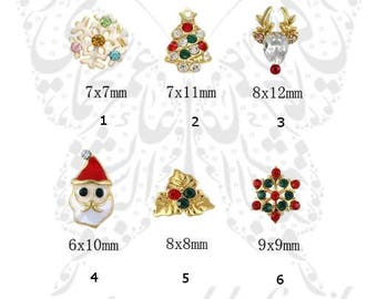 Christmas 3D Nail Charm Assortment /2PCS