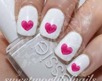 Nail art indian hindu symbols om mantra sign lotus nail water valentines day nail art pink heart water decals prinsesfo Choice Image