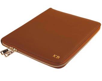 Personalized Portfolio Compendium with zipper