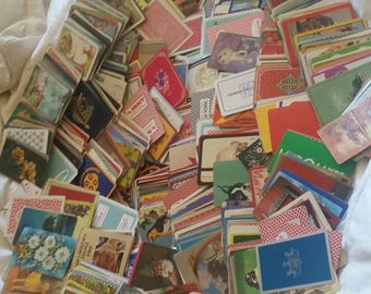 1,111 vintage antique single swap playing cards EACH ONE DIFFERENT That,s right ! each one different  !!