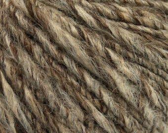 400 gr Alpaca Yarn Worsted Wool Yarn Light Brown and Beige Acrylic Blend Yarn Aran  Weight Yarn Bulk