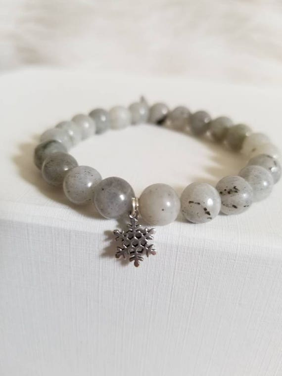 New Beginnings: Reiki Attuned Labordorite Healing Bracelet