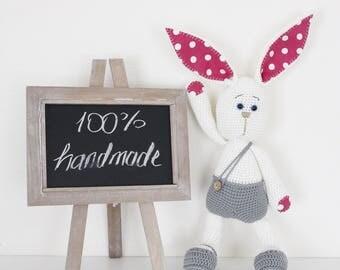 Hand made blanket Bunny Crochet