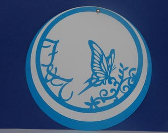 Share wedding circle Butterfly humming-bird