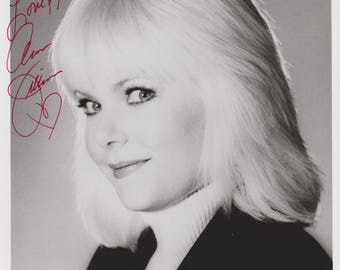 Ann Jillian Original Vintage Hand Signed 8X10 Autographed Photo