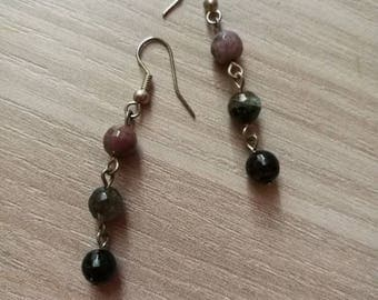 Dangling earrings handmade jewelry agate gemstone party earrings nickel free earrings gift for her nickel free earrings accessories gift her