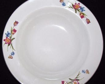 ON SALE Epoch GARDEN Bloom E204 Soup Cereal Bowl Dinnerware Excellent Condition