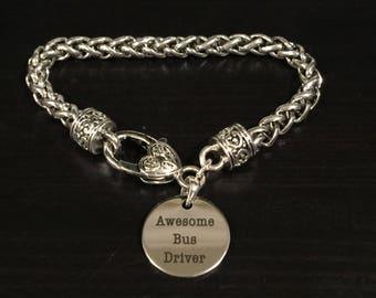 Awesome Bus Driver Fashion Bracelet