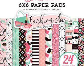 Fashionista 6x6 paper pad