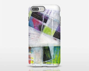 Multicolor Phone Case, Galaxy S7 Edge, Abstract Art, Abstract Cell Case, Original Phone Cover, iPhone Cases, iPhone Plus, Xperia Cases