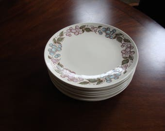 Taylor Smith & Taylor TST CONCORD 1968 Dinner Plates (6)!