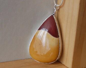 Australian Mookaite Necklace, Mookaite Pendant, Mookaite Jasper, Australian Jewelry, Gift Ideas For Her, Spiritual Jewelry, Jasper Pendant,