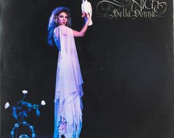 Stevie Nicks Original 1981 Bella Donna Modern Records Folk Rock Vintage Vinyl Record LP