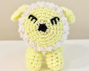 Lamb, Amigurumi Stuffed Animal, Crochet Animal CLEARANCE item on SALE