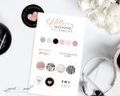 Custom Logo Design Business Logo Design Hand Drawn Painted Logo, Full Branding Design, Branding Design, Professional Branding Design