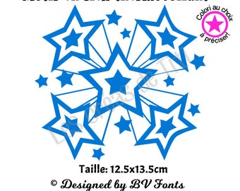 Heat transfer stars, heat transfer to iron, stars iron on, heat transfer design to iron on clothes, iron on decal stars