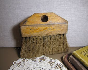Wooden Frame - Natural Bristle Utility Brush (No Handle)