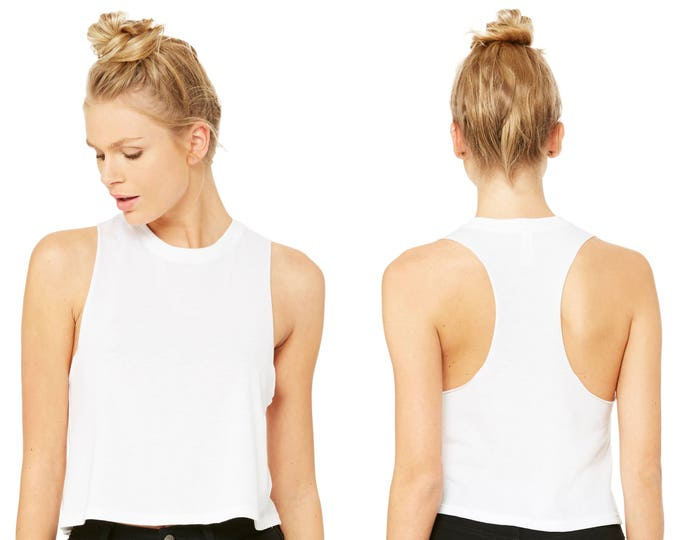 Wholesale Only - Slouchy Tank White