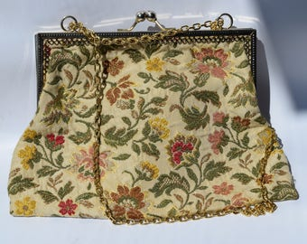 Floral Bag by Mr. Simon Ernest, Made in Italy