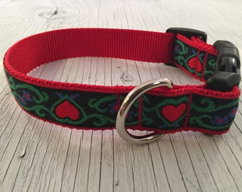 Sweetish Hearts Dog Collar