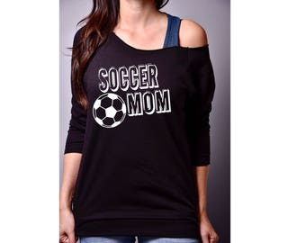 Soccer mom shirt/ Soccer shirt for mom