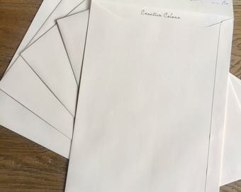 Finest, Quality Envelope(s) in A4 or DL size, Ivory or Black with other colours available