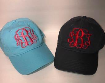 Monogrammed Comfort Colors Hat