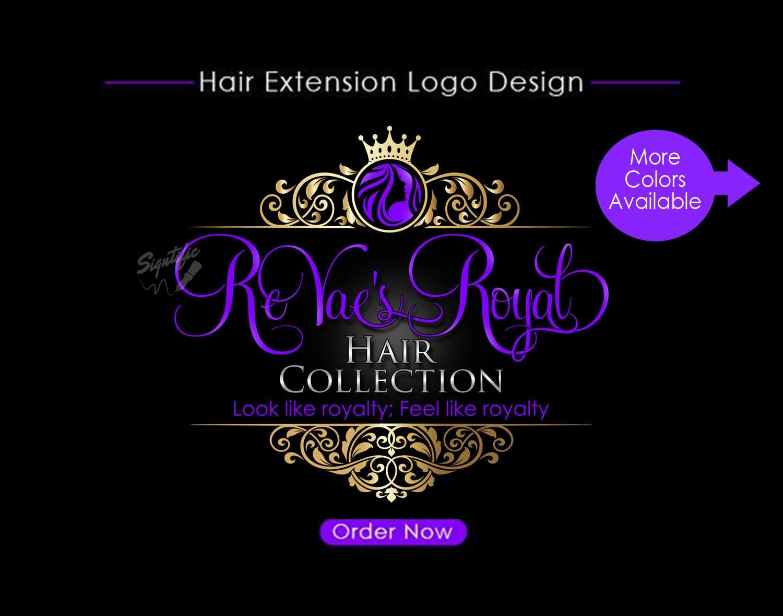 hair extensions logo hair logo design salon logo hair