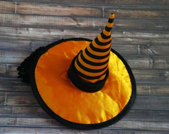 Witch Hat Headband | Toddler Witch Hat | Baby Witch Costume | Baby Girl Costume | Halloween Costume