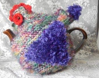 Rainbow Chicken Tea Cosy ( 4-6 cup tea pot)