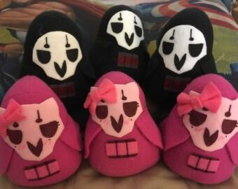 Overwatch Reaper Bean Fleece Plush Toys (3 sizes)