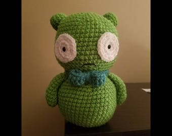 Bob's Burgers inspired Crochet Kuchi Kopi plush