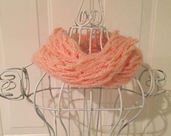 Hand Knitted Yarn Scarves
