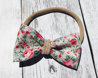 Baby girl nylon headband
