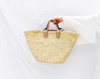 La Plage Woven Straw Beach Bag