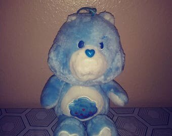 Grumpy Bear 1980s Care Bear excellent condition 13'