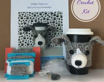 Dog Crochet Pattern - Crocket Kit - Amigurumi Kit - Crochet Pattern Dog - Crochet Starter Kit - Crochet Gifts - Crochet Dog Pattern