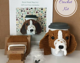 Crocheting Pattern, Crocket Kit, Amigurumi Kit, Crochet Pattern Dog, Crocheting Kit, Crochet Gift, Dog Crochet Pattern, Crochet Basset Hound