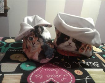 Baby booties; baby boots; baby shoes (size medium  4 1/2in.)