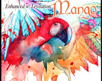 Rainbow Mango w/Levitation - Pheromone Enhanced Perfume Spray for Women - Summer 2017 Collection - Love Potion Magickal Perfumerie