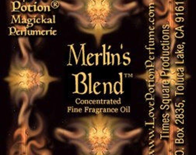 Merlin's Blend - Handcrafted Fragrance for Men - Love Potion Magickal Perfumerie