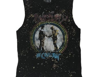 Upcycled Pink Floyd Tank Top Mens Size XL
