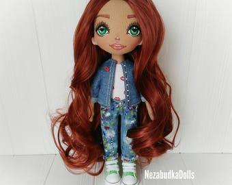 Birthday Gifts for daughter Ragdolls Handmade Dolls Babydolls Textile dolls Interior dolls Art dolls Cloth dolls Fabric dolls Soft toys