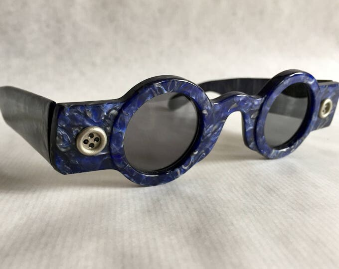 Patrick Kelly Paris «Peanut 71» Vintage Sunglasses - New Old Stock - Made in France