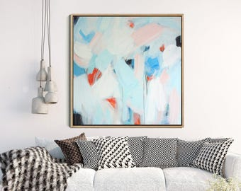 Abstract Art, Giclee Print , Abstract  Print , Modern Art Abstract , Blue Abstract Art,  Minimalist Painting , Contemporary Art