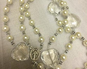 Personalized Girls Rosary Beads