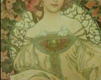 Artist print in frame
