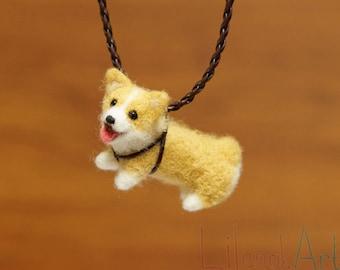Corgi necklace, Pembroke welsh corgi gifts, corgi pendant, corgi jewelry, cute dog necklace, dog lover gift, pet necklace, pet jewelry, MTO